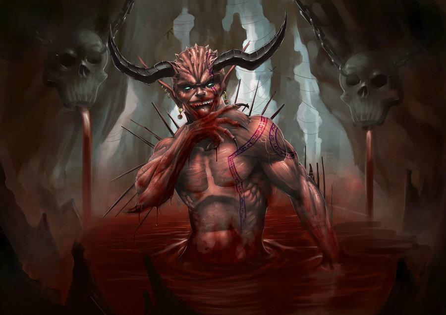 Сатана и дьявол картинки