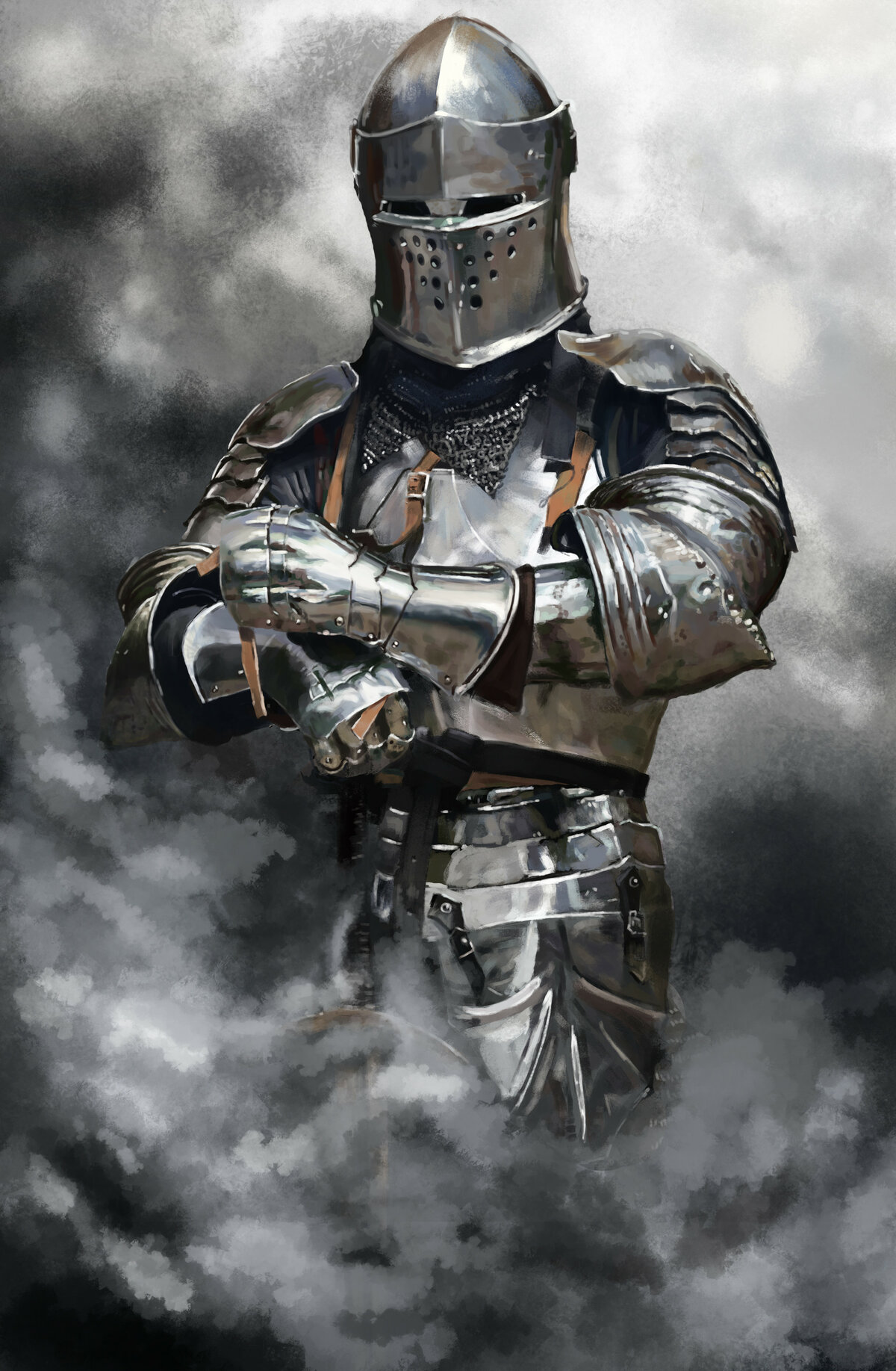 Открытка, картинки рыцаря
