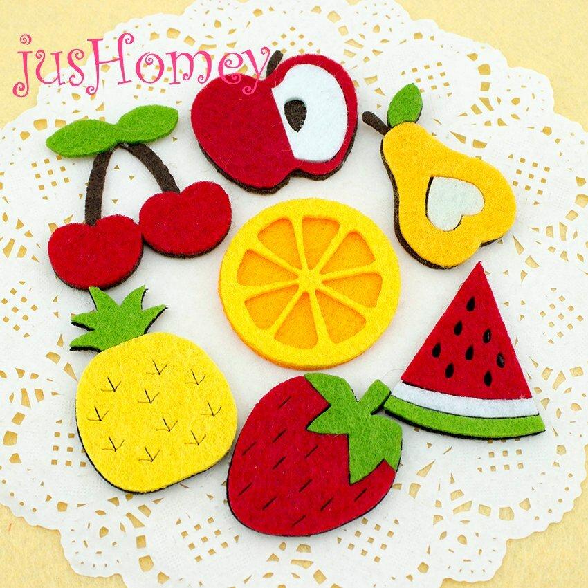 Картинки фрукты из фетра