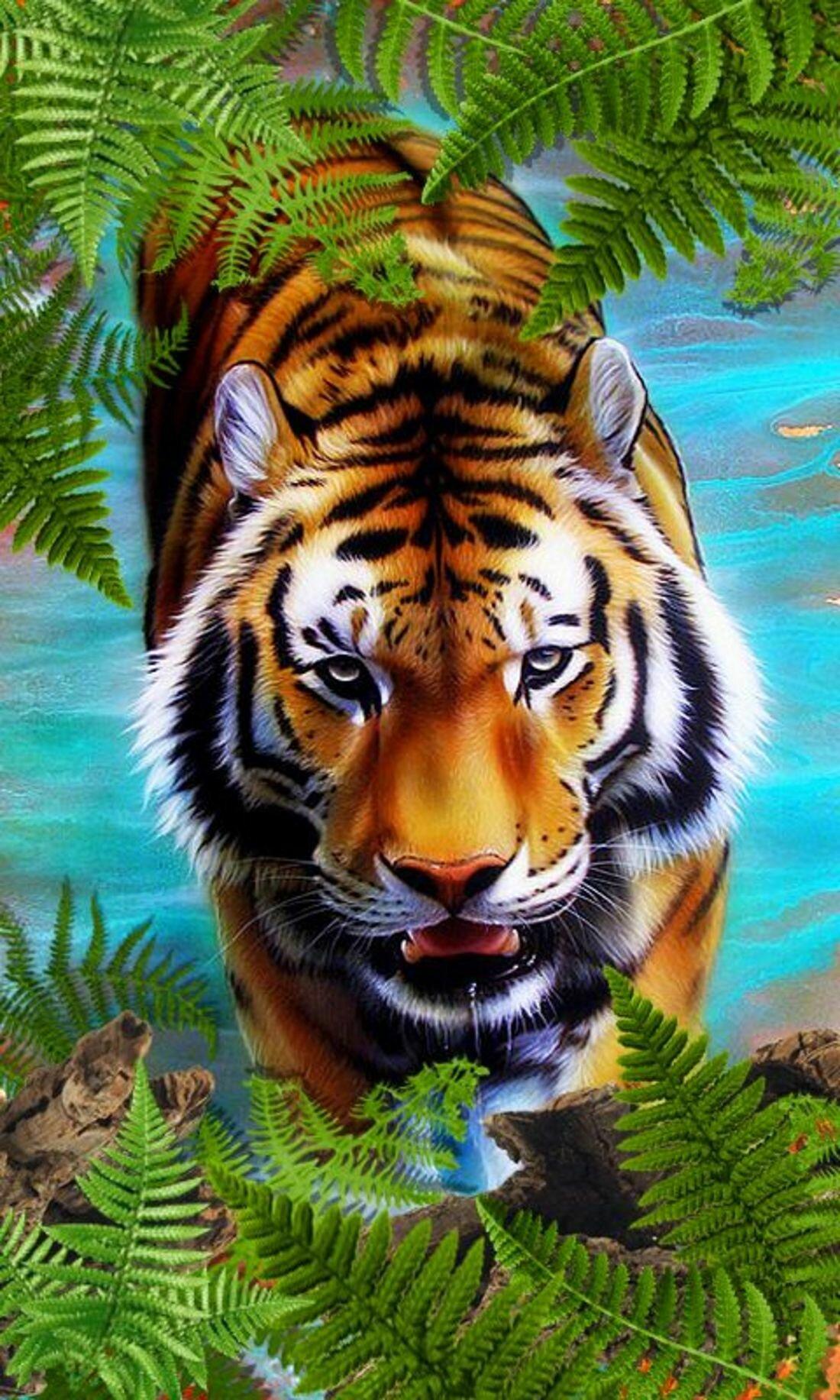 Живые открытки животные