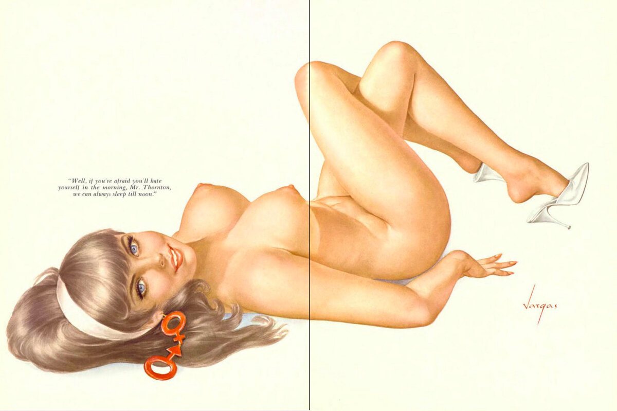 Vintage beach pin up girl nude, womens sex magazines