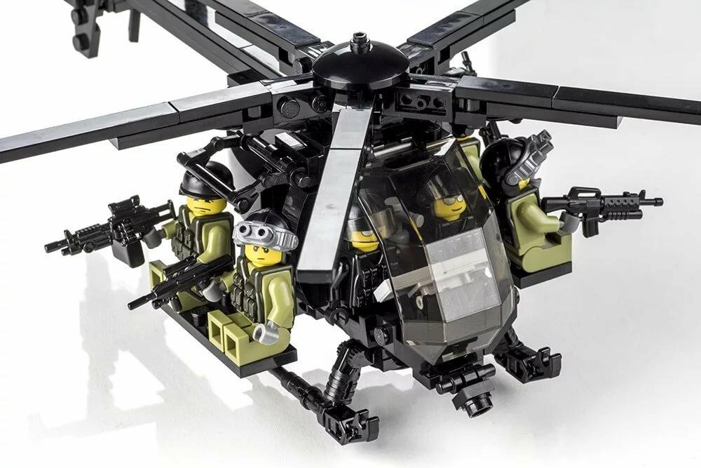 фото военных вертолетов из лего материалов для