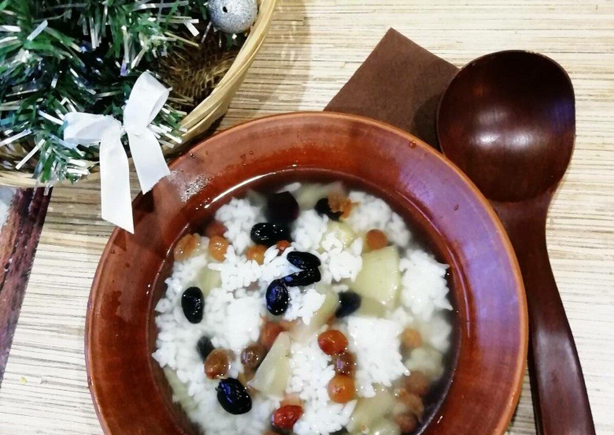 Кутья рисовая рецепт с фото