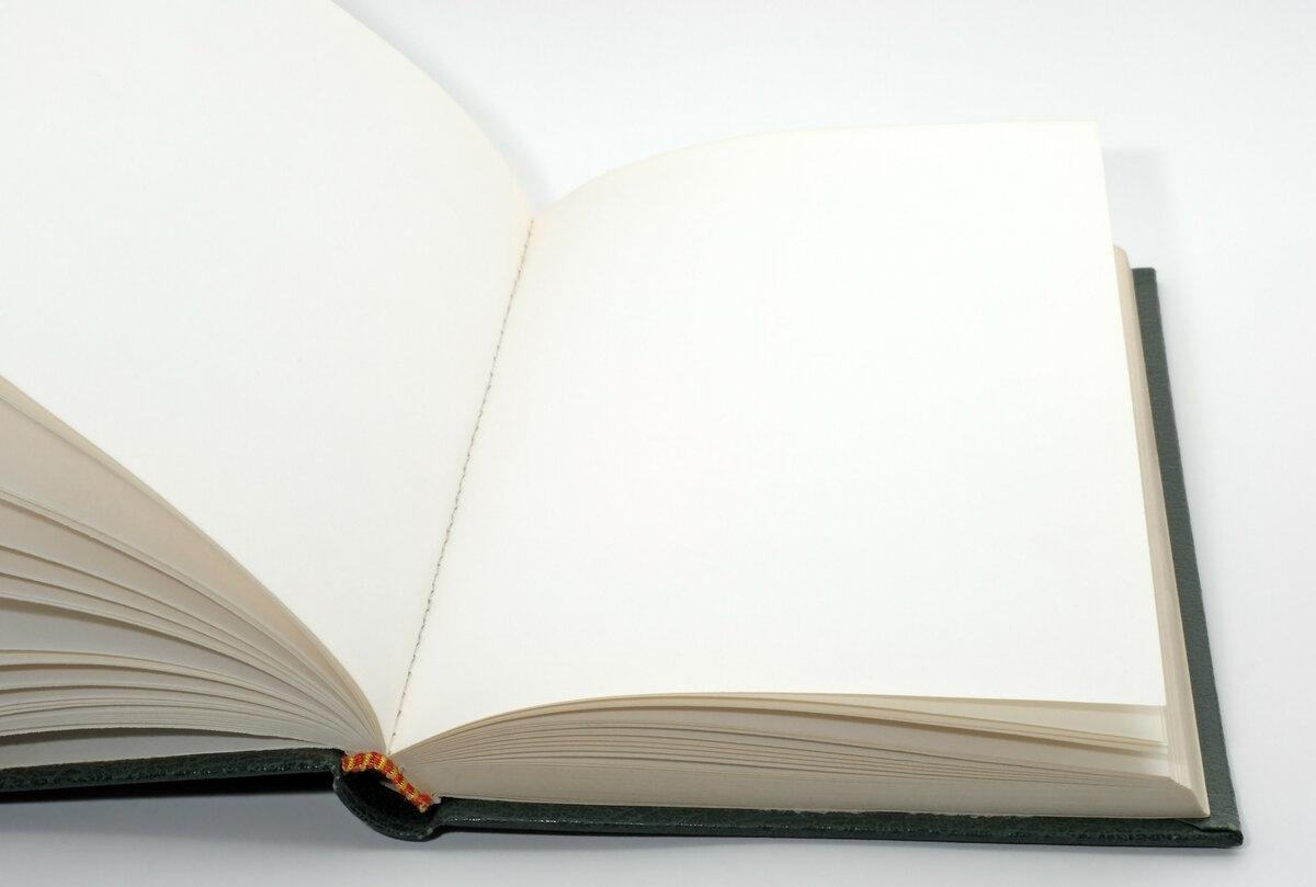 посторонней картинки пустых книг будет зависеть того