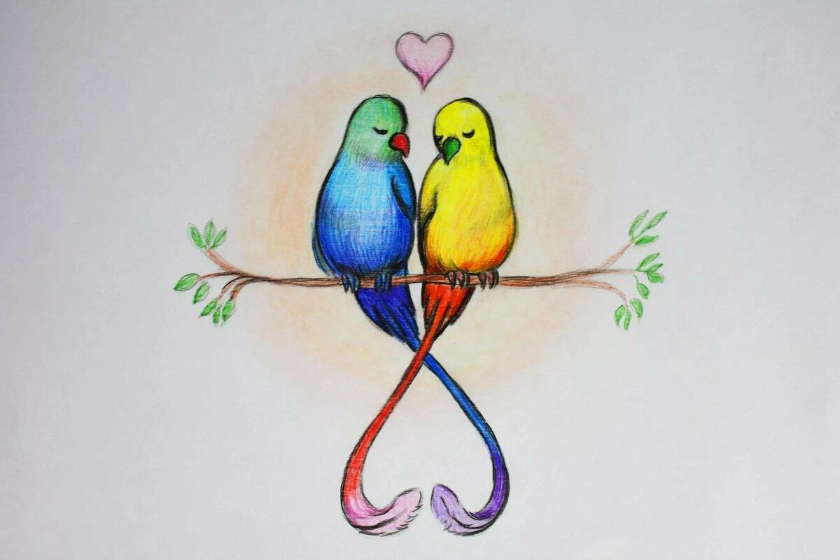 метр красивые рисунки карандашом цветным простые дети визжали