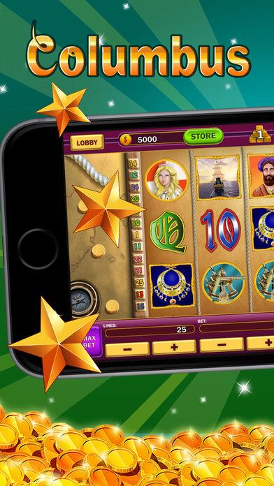 колумбус казино онлайн мобильная версия