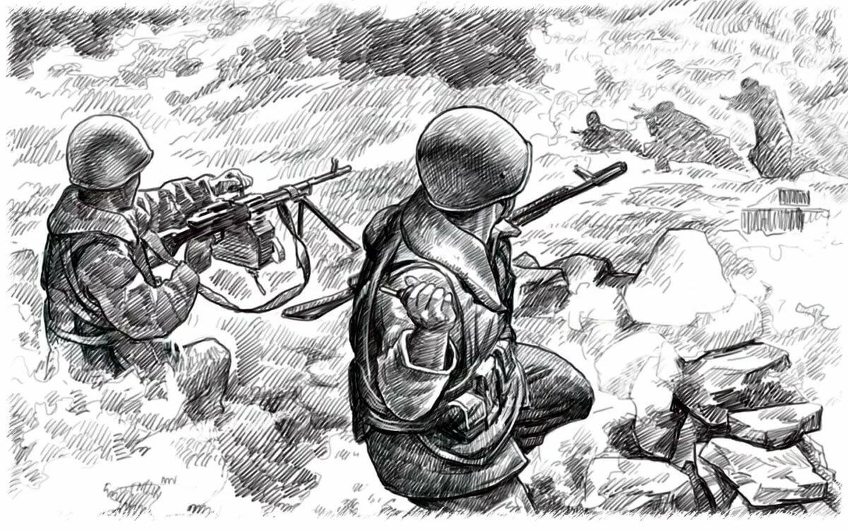 Военная тематика картинки для детей карандашом, бурундуки приколы