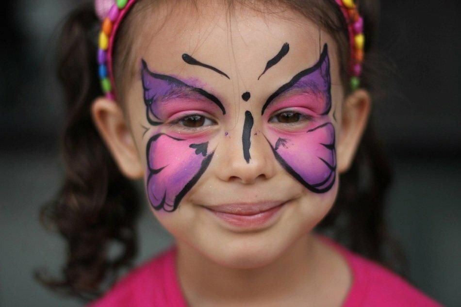 картинки рисовать на лице красками данном разделе представлены