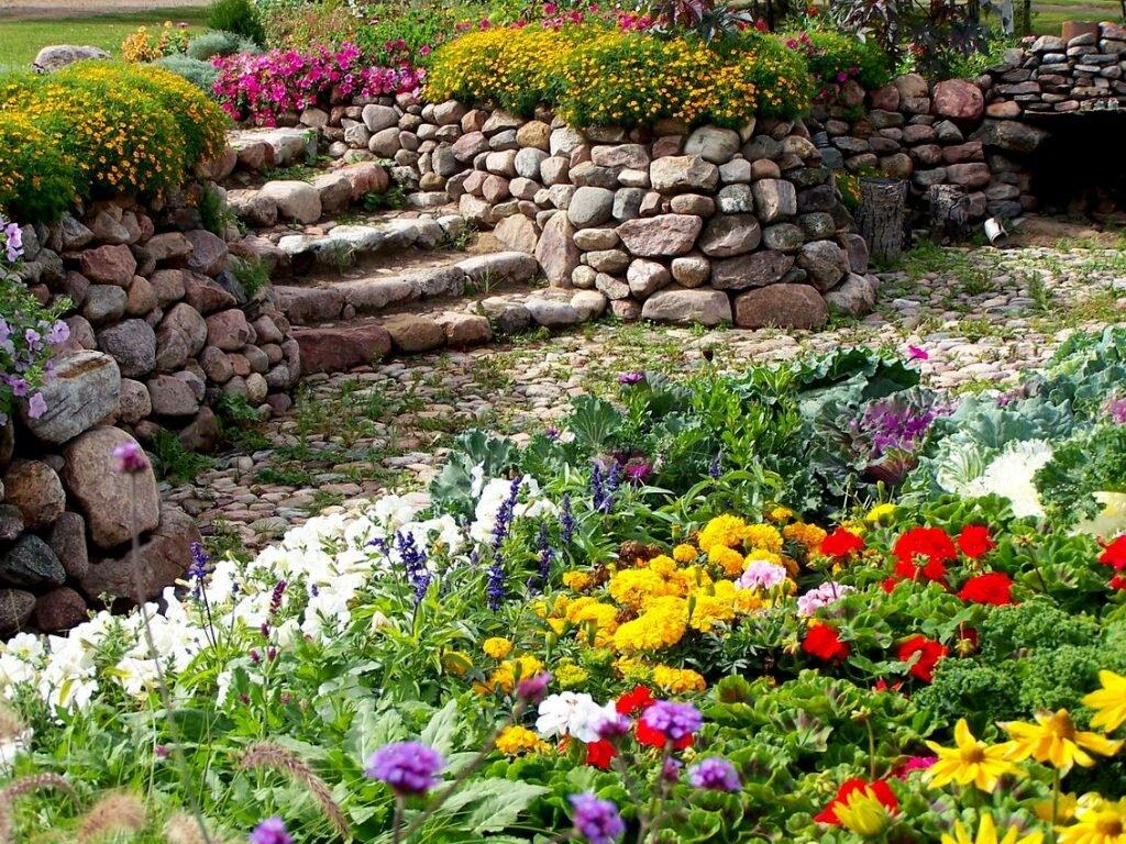 картинки горок из цветов на даче заливаем кефир, добавляем