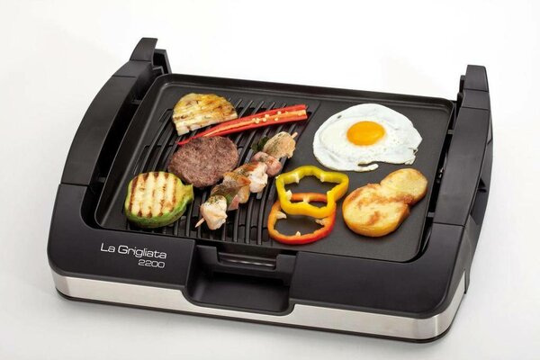 There are three modifications to the electric grill