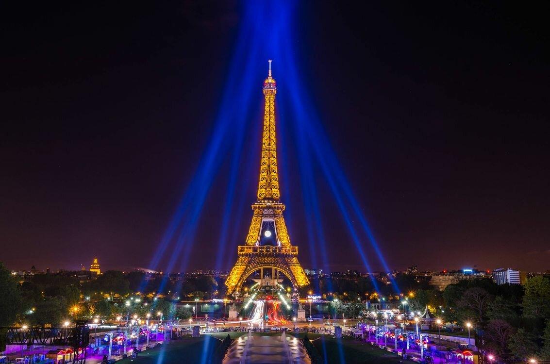 Красивые места в париже в картинках