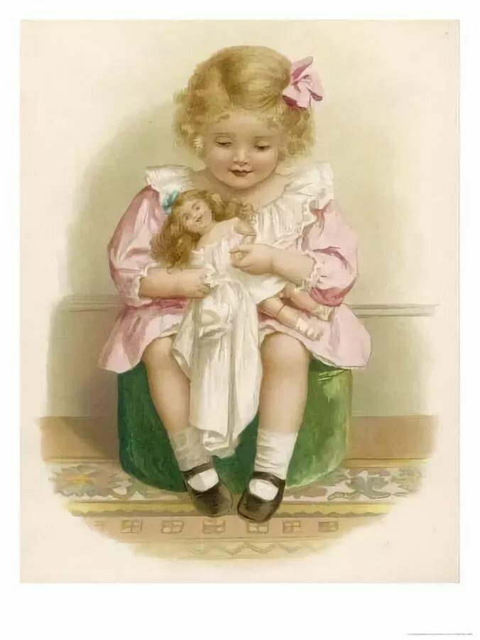 Открытка для куклы, открытки текст
