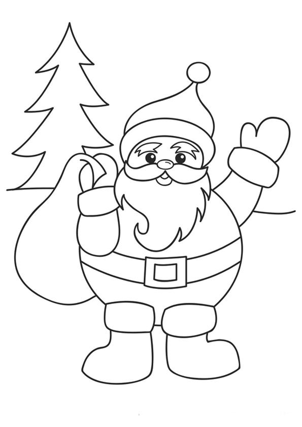 Картинки новый год рисовать легко