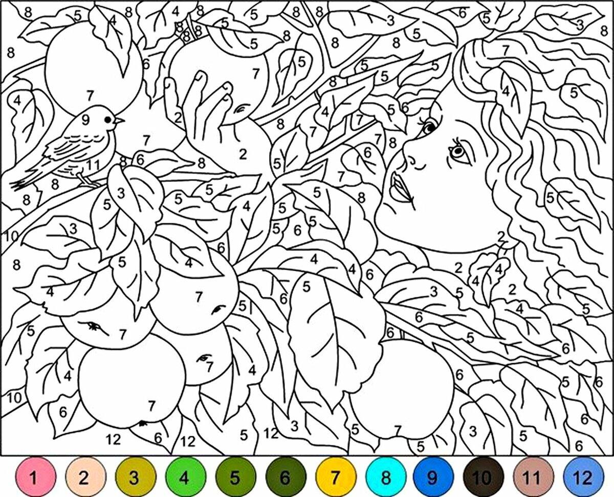 Игры рисовать картинки по цифрам