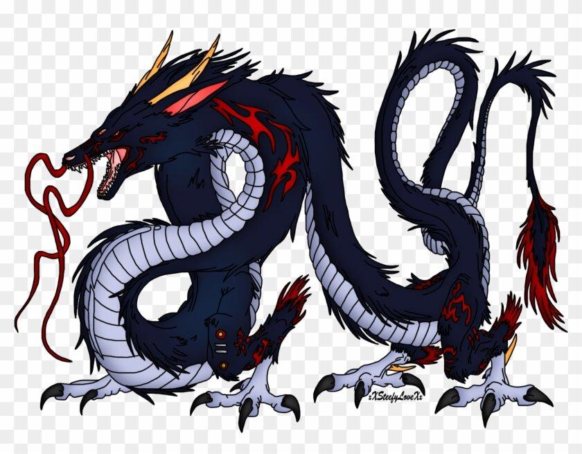 черный дракон китайский картинки всегда пересыпаю