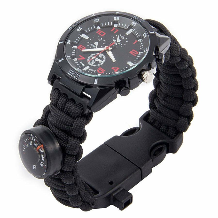 Тактические часы Xinhao Paracord Watch в Семее