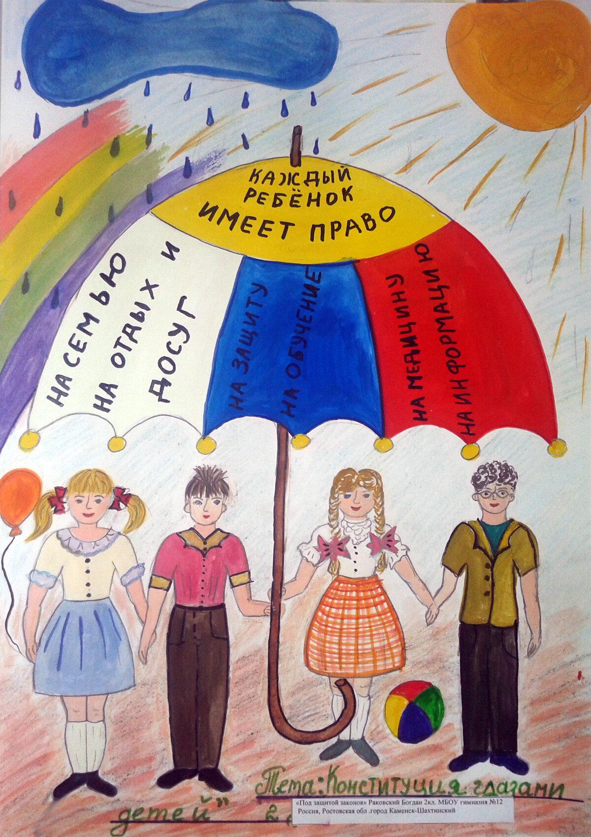 День конституции картинки для детей дошкольного возраста