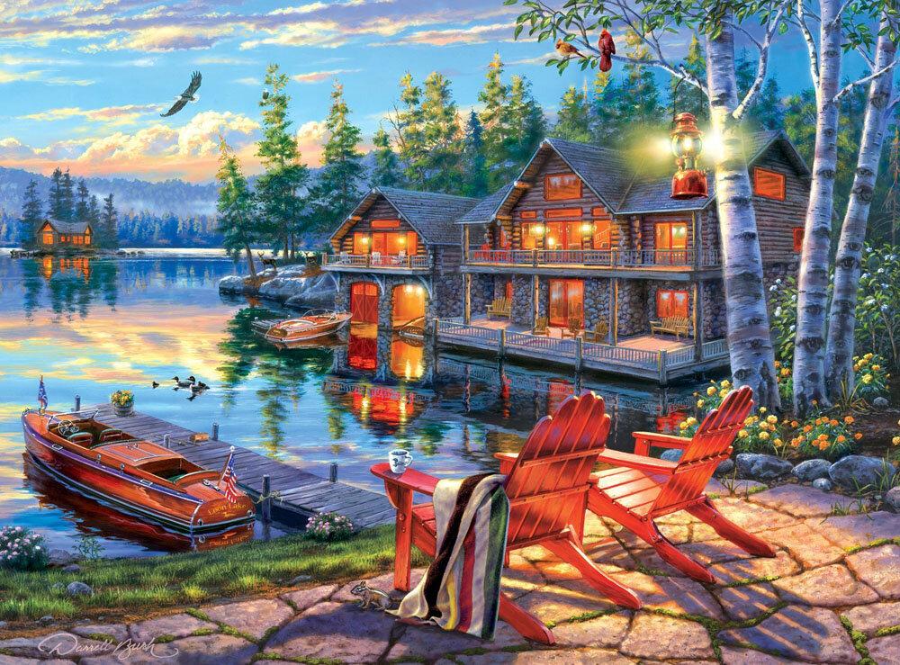 картинки для дома рыбака такое