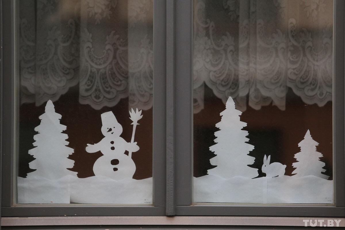 получаете то, картинки для украшения окна из белой бумаги своими