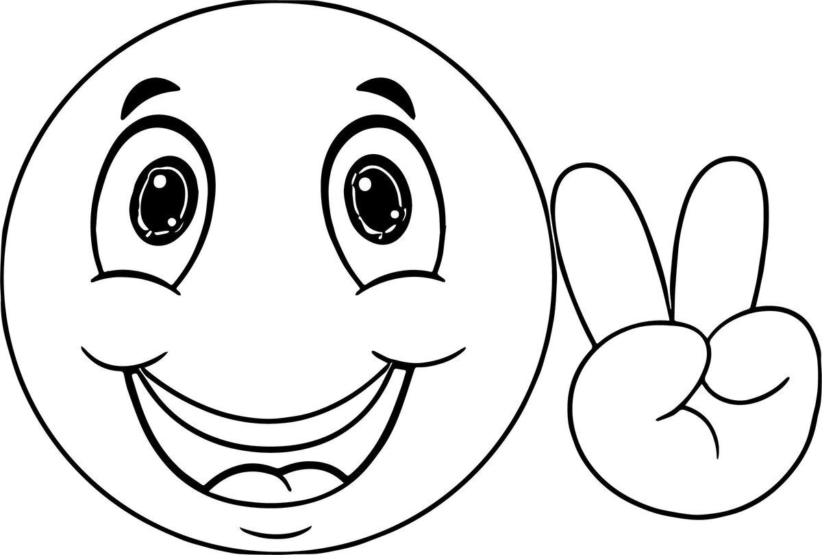 Картинки смешные рисованные рожицы