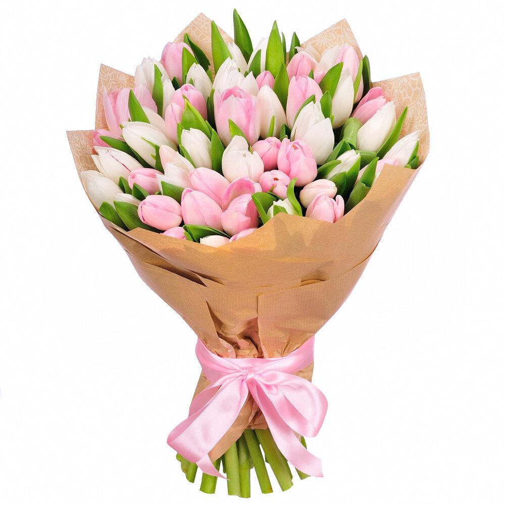 Букеты из тюльпанов интернет магазин