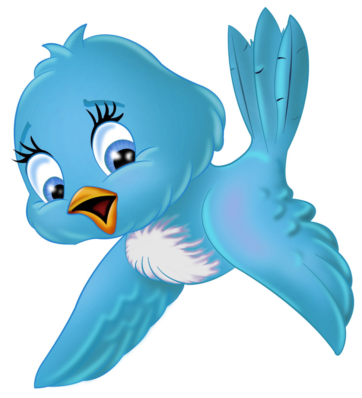 картинка птички малышам наборный