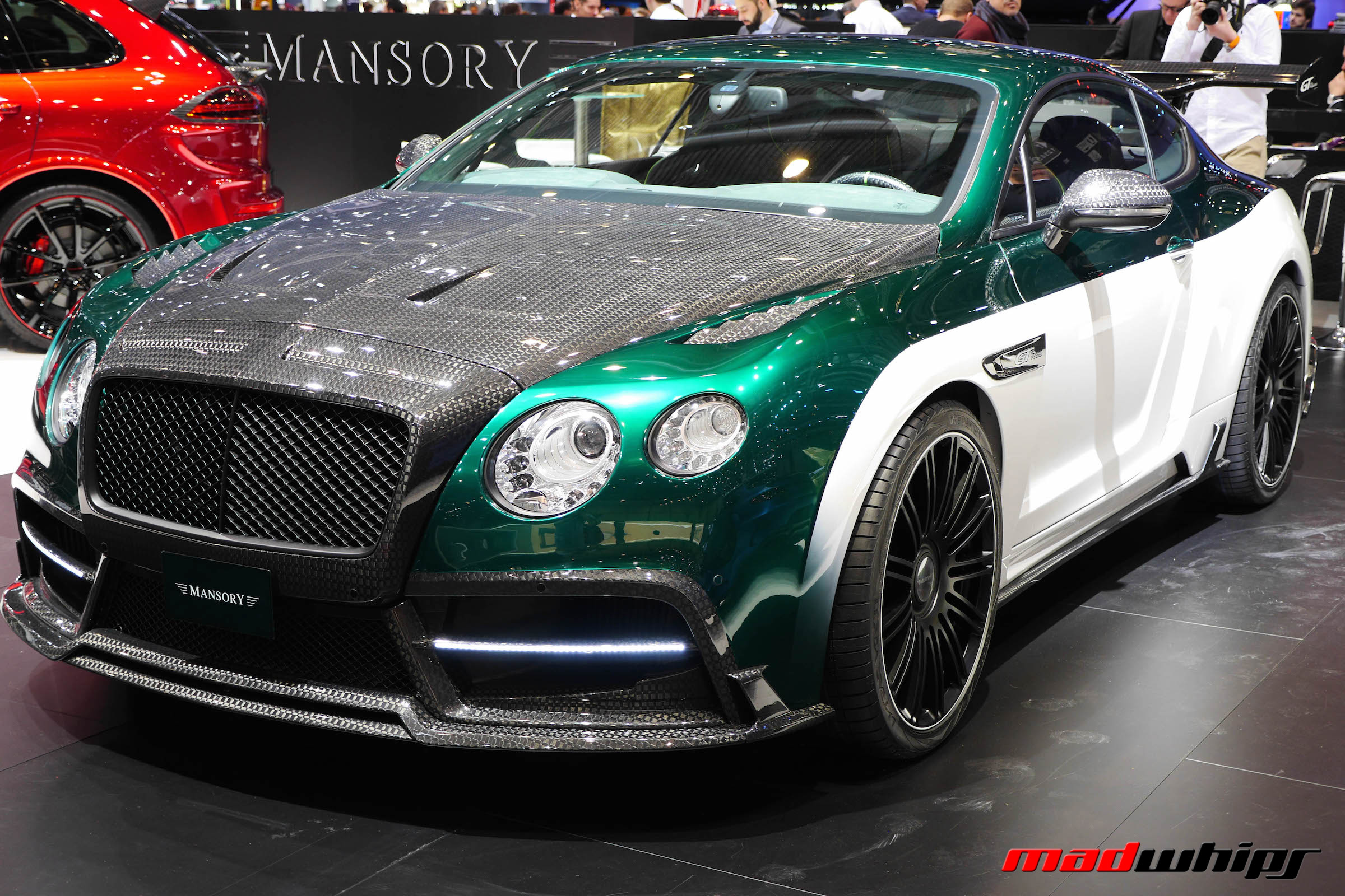 """bentley continental gt mansory madwhips"""" — card from user Саша"""