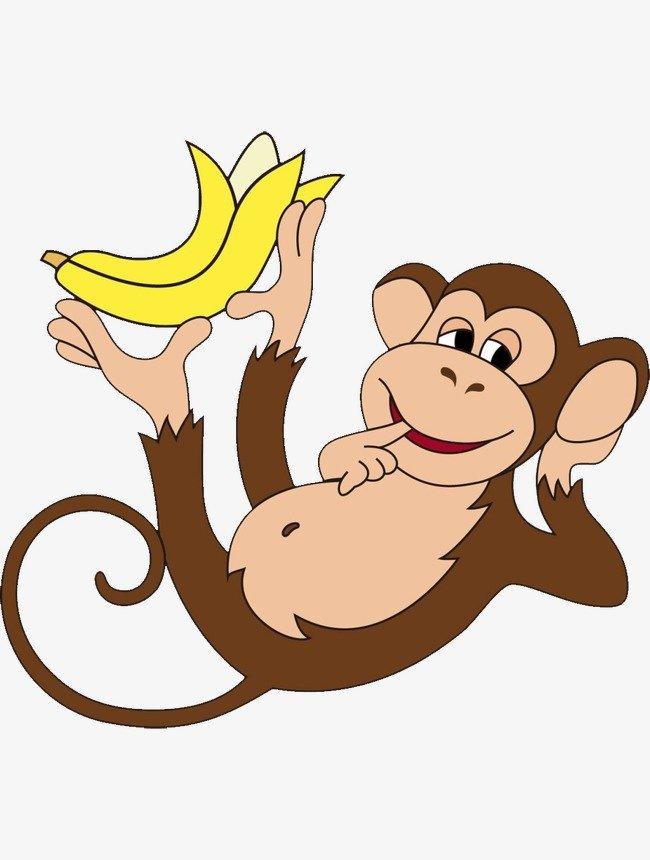 Картинка нарисованной обезьяны