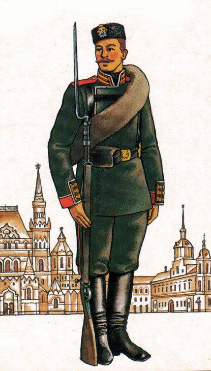 Форма русской армии в картинках