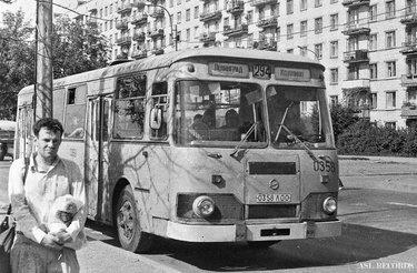 лиаз 677 в москве старые