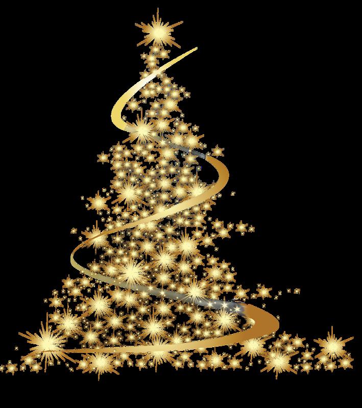Открытка новогодний серпантин
