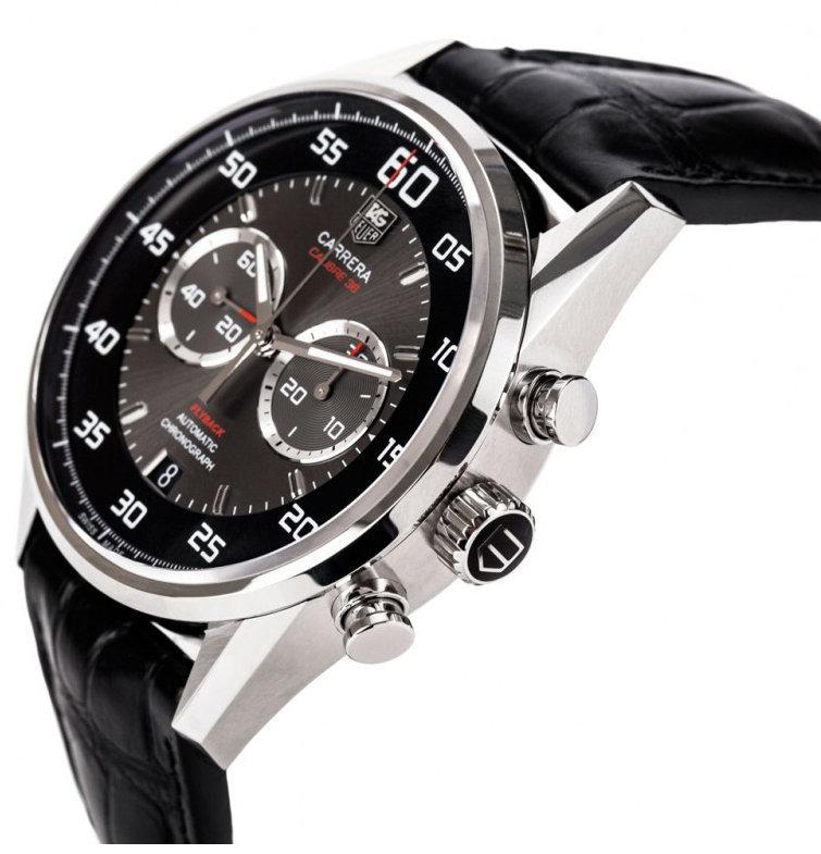 Все наручные часы коллекции tag heuer grand carrera имеют объединяющие их черты, иногда кажущиеся не очень значительными, но в совокупности, создающие такой элегантный, легкий и дорогой облик, какой можно достигнуть только нарочно.