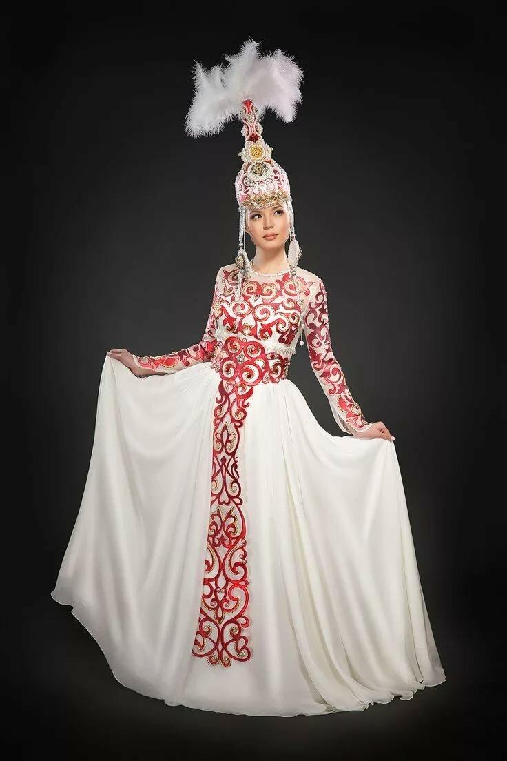 как картинки казахских национальных платьев числе продавцов