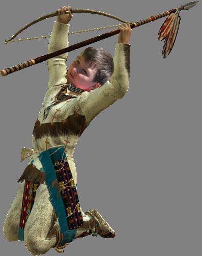 саша-индеец