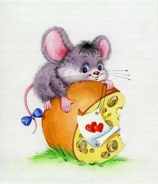 Картинки мышата прикольные