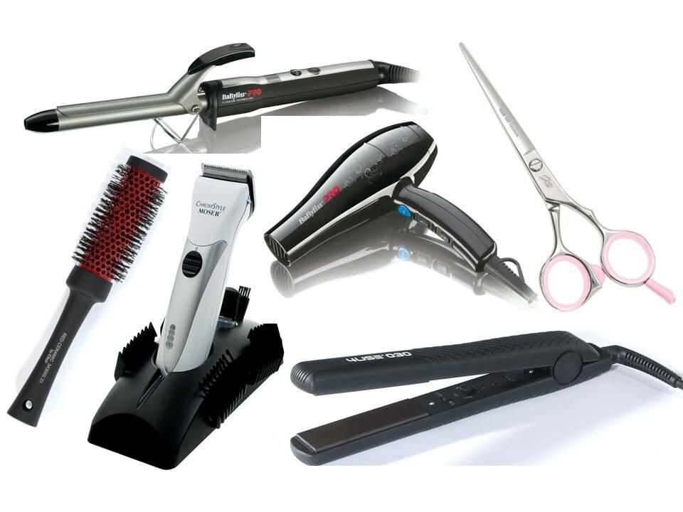 Инструменты для парикмахера с картинками