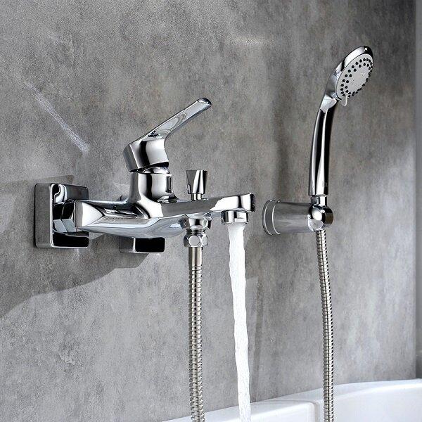 Как выбрать смесители для ванны и душа