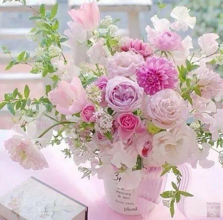 Открытки самые нежные цветы