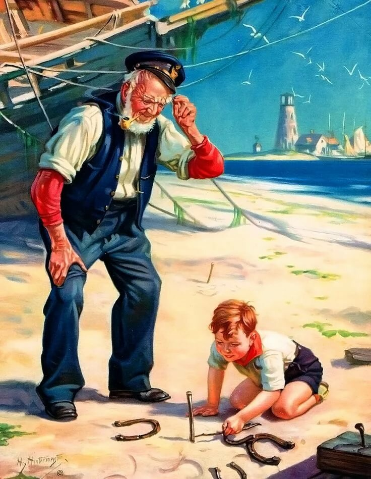 Картинки к дню моряка и рыбака