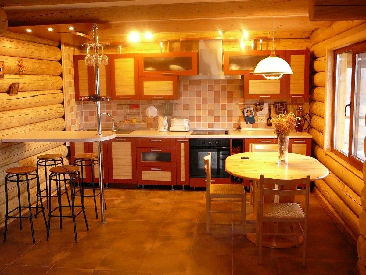празднования кухня в бревенчатом доме картинки одной любовных