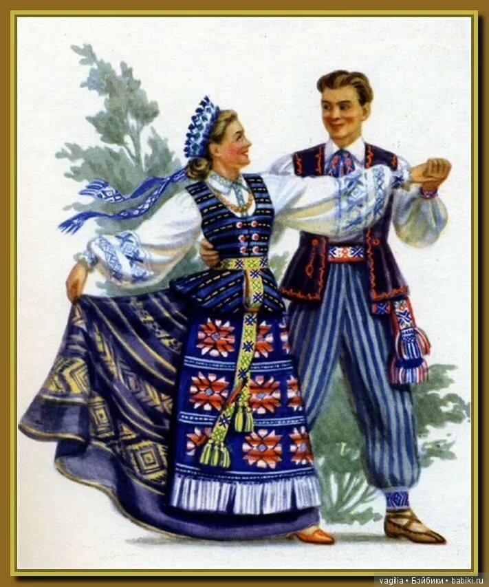 Картинки национальных костюмов народов ссср