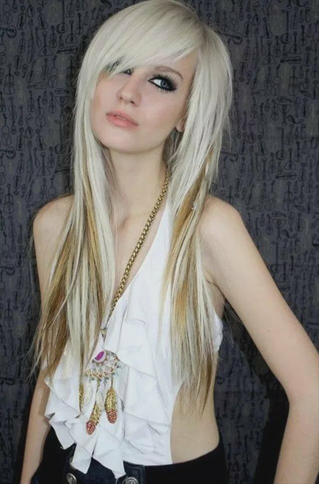 Blonde scene girls — pic 15