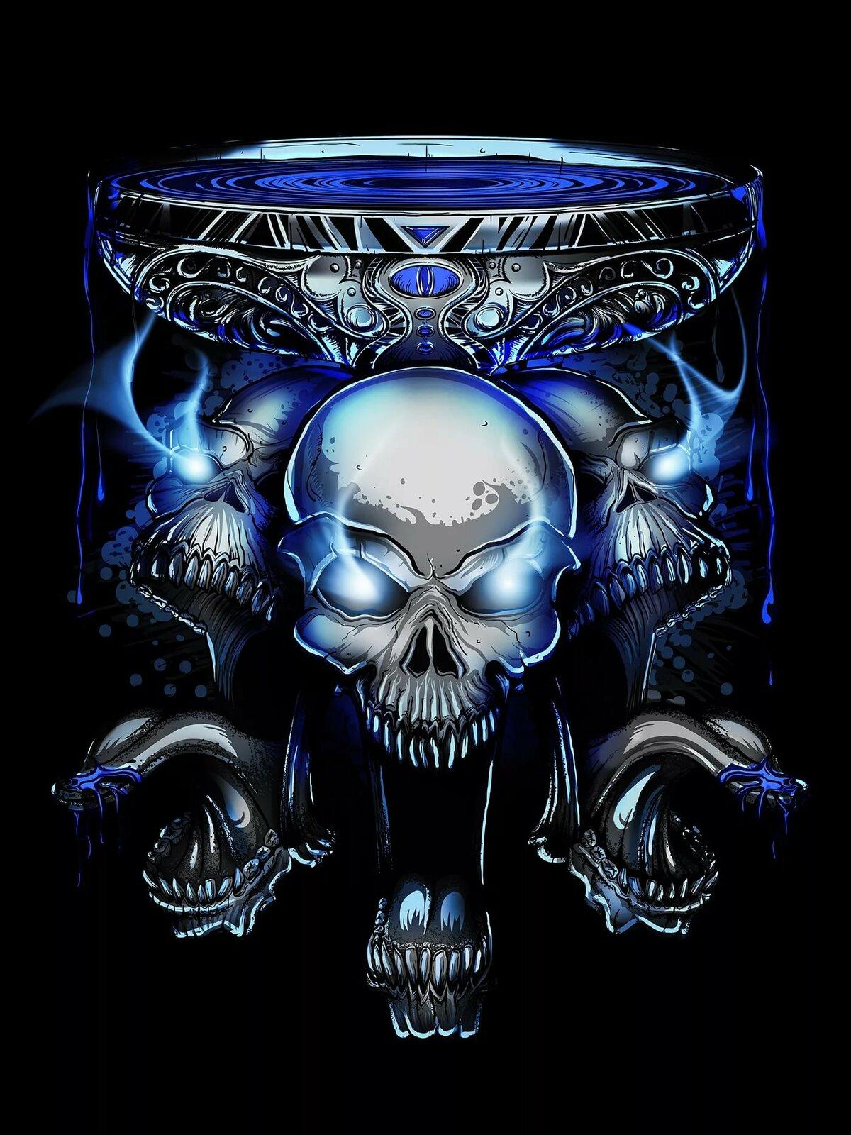Красивые картинки черепов