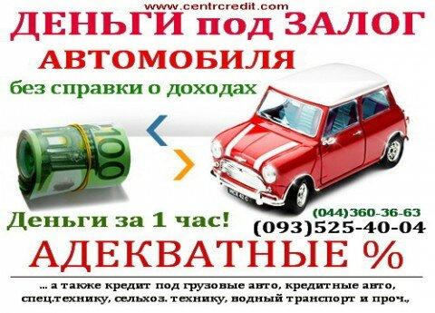 Кредит под залог авто нижневартовск автосалон москвы audi