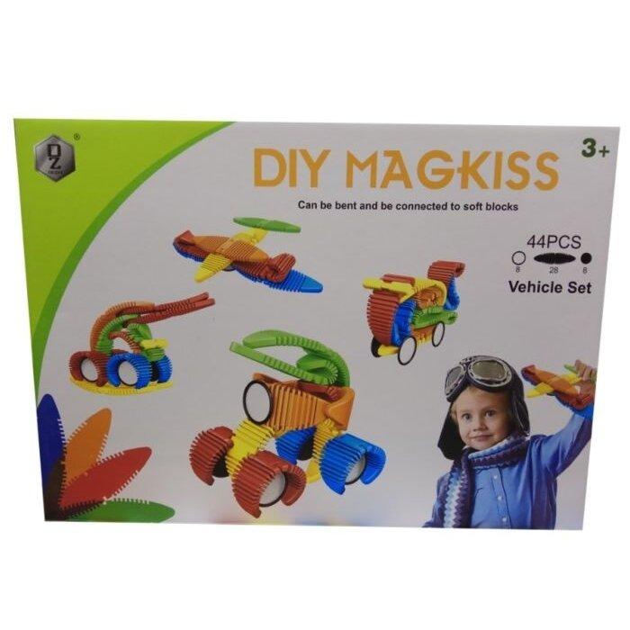 Магнитный конструктор DIY MAGKISS