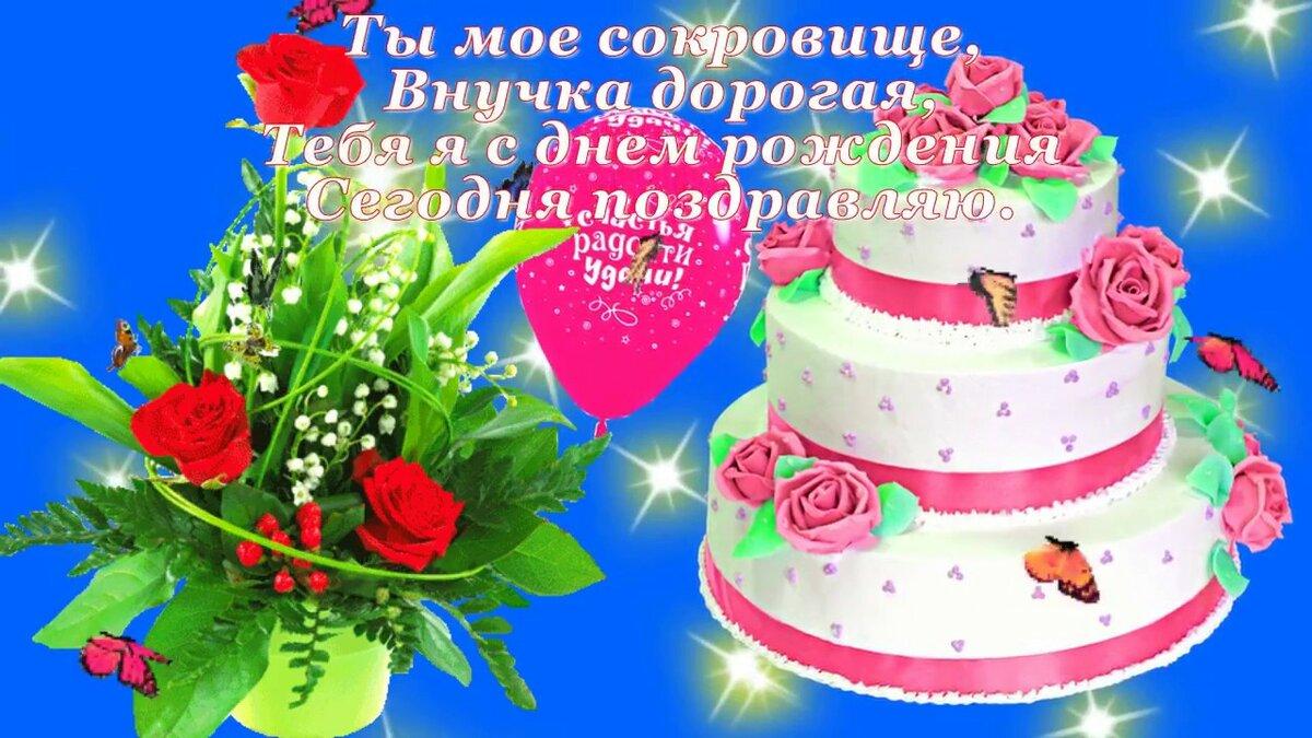 Поздравления с днем рождения внучки 4 годика от бабушки
