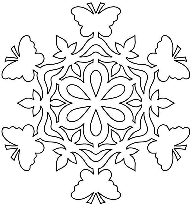 Картинки снежинки из бумаги шаблоны для вырезания распечатать, открытка днем