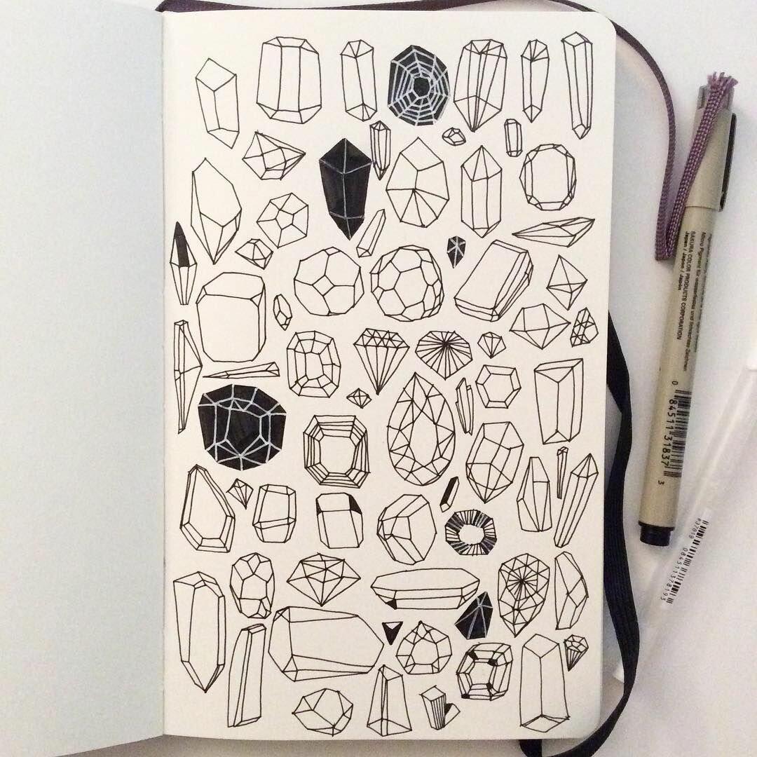картинки идеи для скетчбука черной ручкой легко последнее время