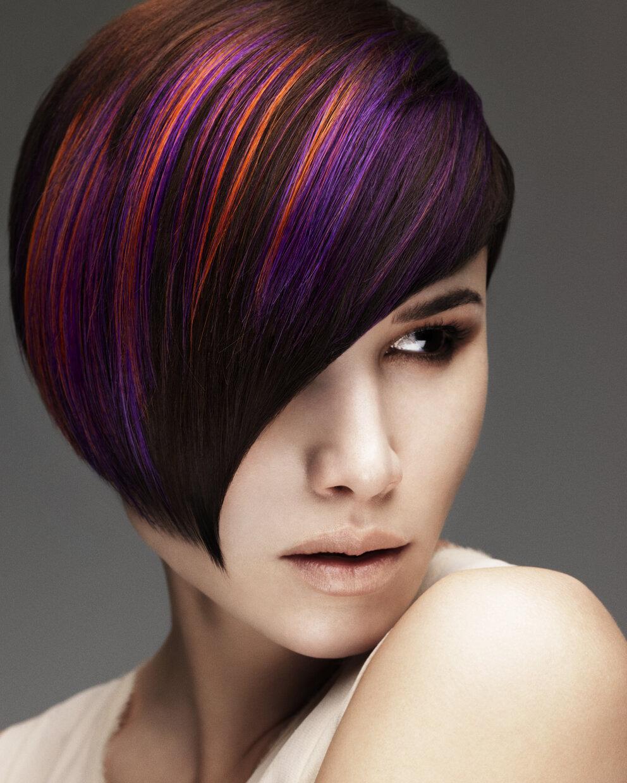 покраска волос на темные короткие волосы фото заявку