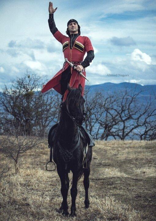 каждого карачаевский воин картинка для начала
